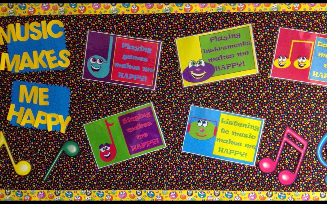 Music Makes Me Happy – Bulletin Board – Fall  2014