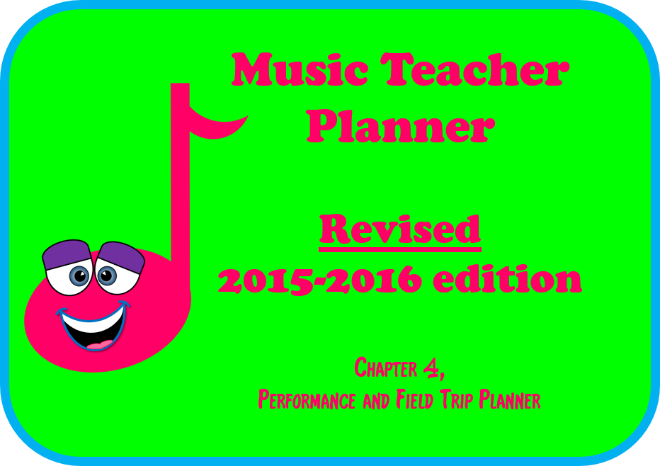 2015-2016 Music Teacher Planner – chapter 4