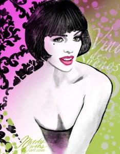 Melody Owens French Fashion Art