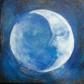"""Sleepy Moon"""