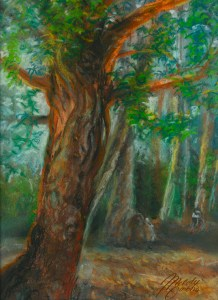 Lake Forest Pastel by Melody Owens
