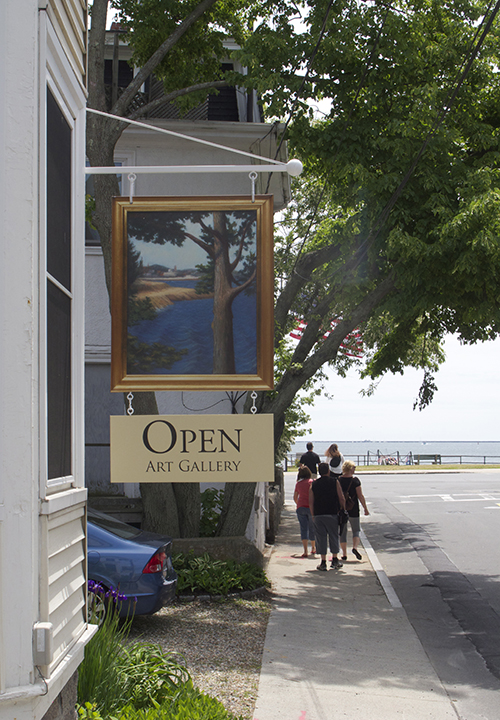 Melody Phaneuf Gloucester Gallery Sign