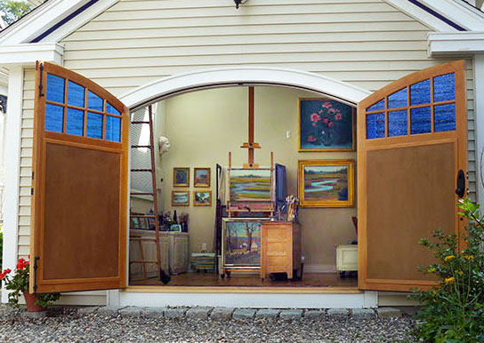 Artist Studio & Art Gallery, at 3 Centennial Ave, Glocuester, MA