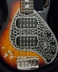 Danny Knapp Melonhead Ernie Ball Musicman Stingray Bass Sakura