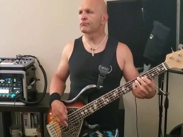"""I just posted a bass play-through on my YouTube channel for the new song from my band The Bredren, """"Cali Livin""""."""