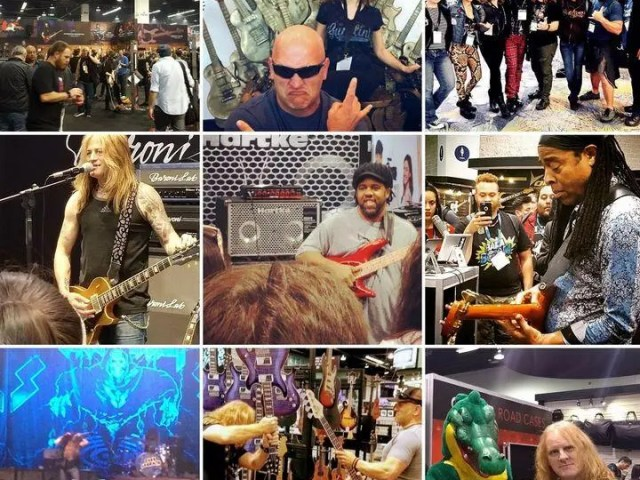 I've been attending the NAMM show for years.