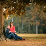 fall engagement portrait session, couples pictures, The Woodlands