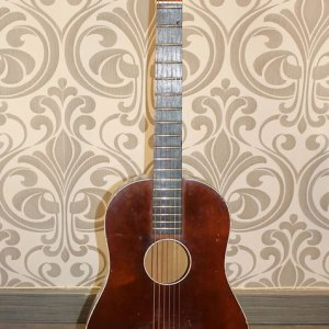 Guitarra Acústica Egmond Toledo 60´s 1960 red wood