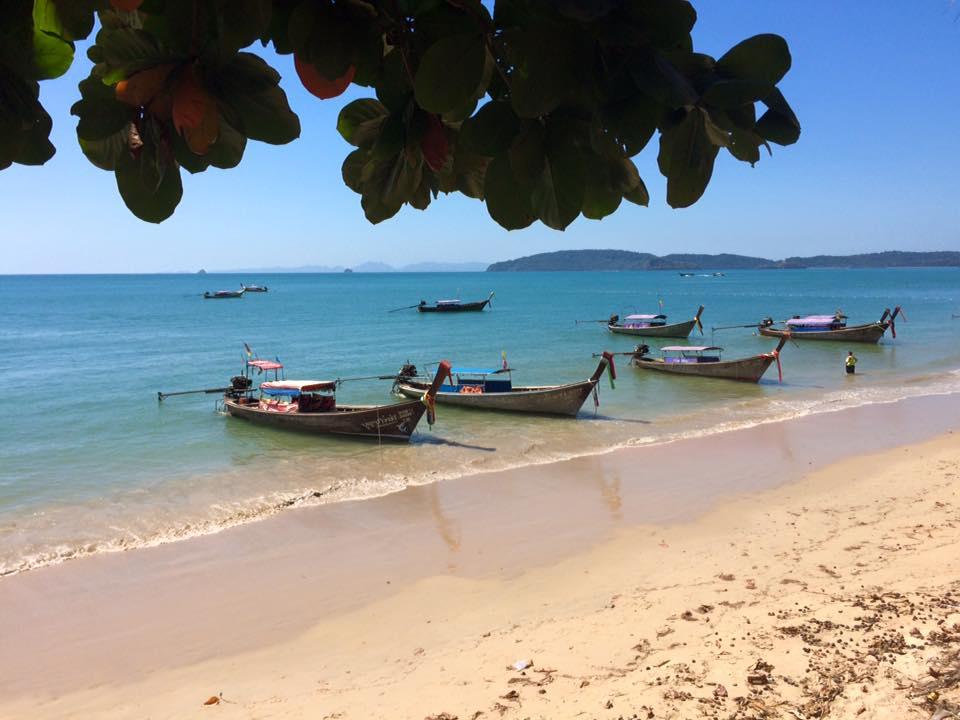 Playa de Ao Nang, Tailandia