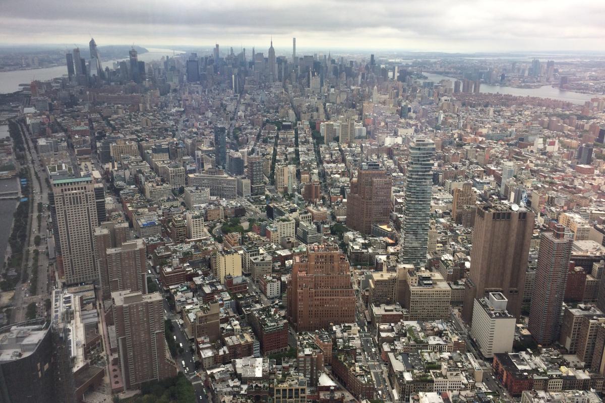 lo mejor de new york desde el aire