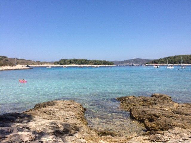 las Islas Pakleni están pegadas a Isla de Hvar