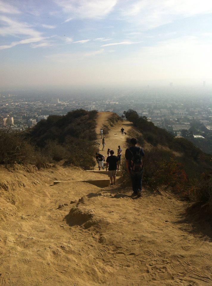 hiking en la montaña de hollywood LA, qué ver en los angeles