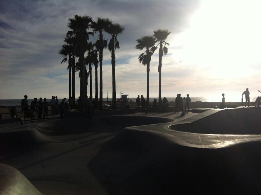 skate park Venice Beach, que ver en Los Angeles