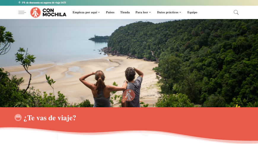 captura mejores blogs de viajes con mochila