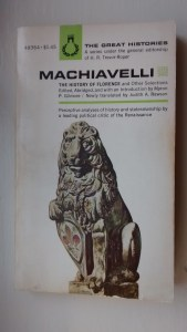 Cover Illustration Machiavelli (The Great Histories Series)