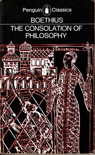 Boethius Consolation Cover Illustration B&W
