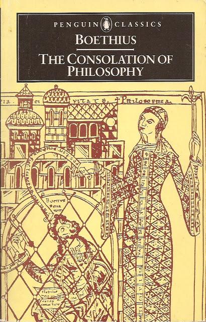 Boethius Consolation Cover Illustration Line