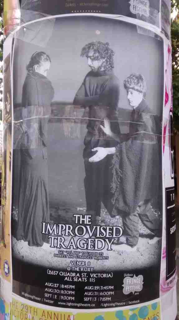 Improvised Theatre Poster