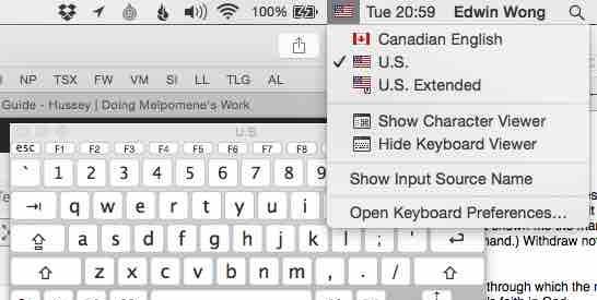 Keyboard Viewer