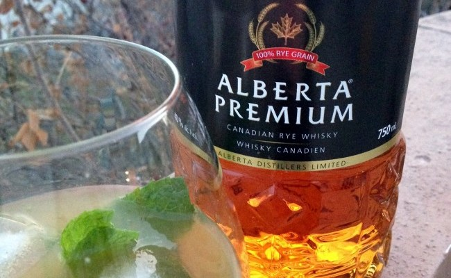 Cocktail Recipe: Alberta Premium Rye Whisky Smash