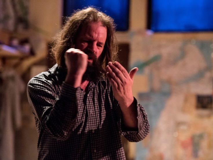 preacher princess crow edmonton azimuth theatre steve pirot photo by Marc J Chalifoux