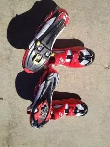 Bontrager road and mountain bike tri shoes
