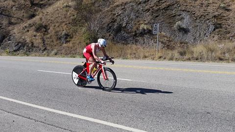 cycling Challenge Penticton triathlon