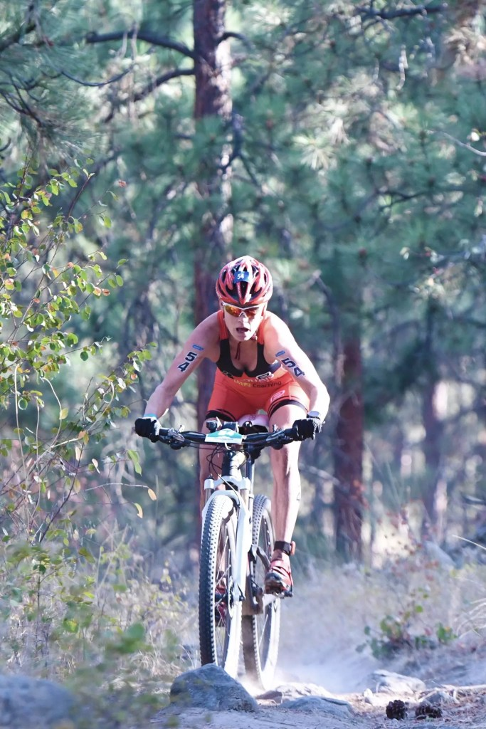 mountain bike penticton three blind mice trails