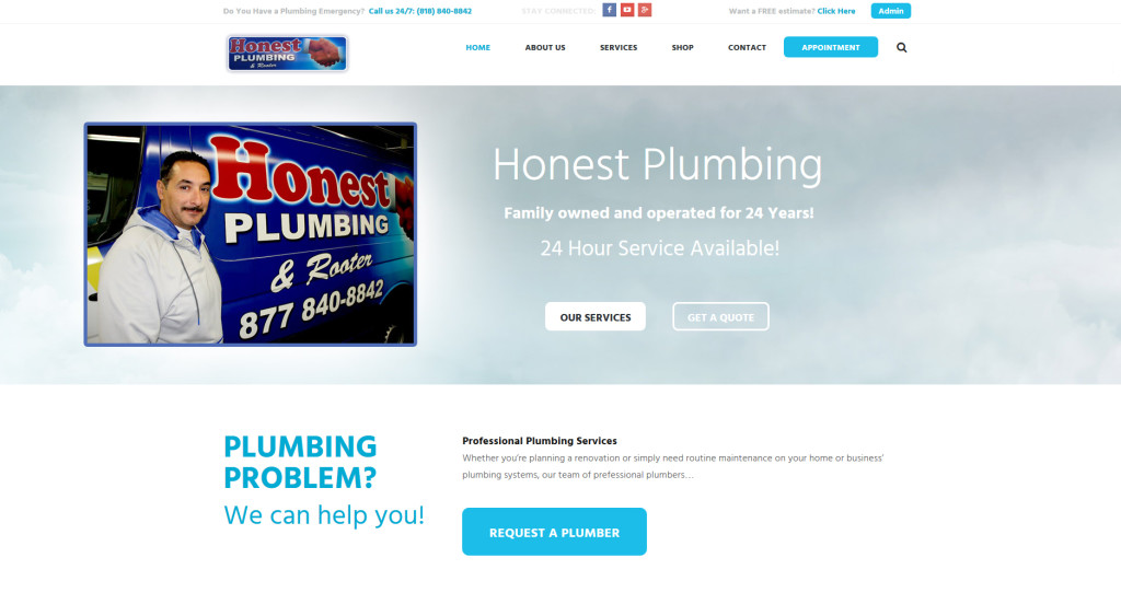 """Honest Plumbing in Burbank. """"Get It Done Right The First Time."""""""