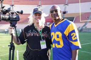 Sean_Lee_with_Eric_Dickerson_LA_Rams_NFL-web