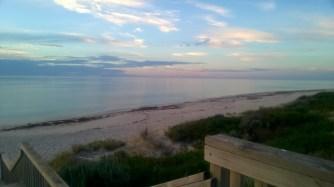 beach horizon normanville ocean fleurieu