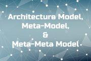 Architecture Model, Meta-Model, and Meta-Meta Model