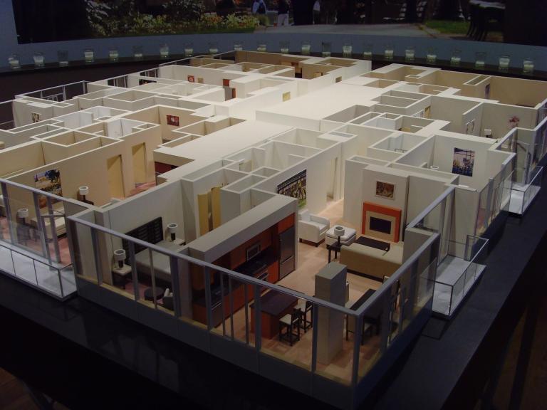 Interior Floor Model