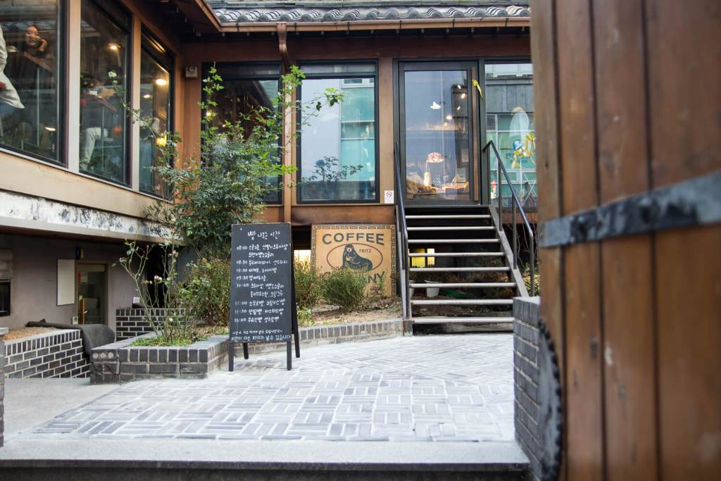 Specialty Coffee in Seoul_fritz coffee company_mapo branch
