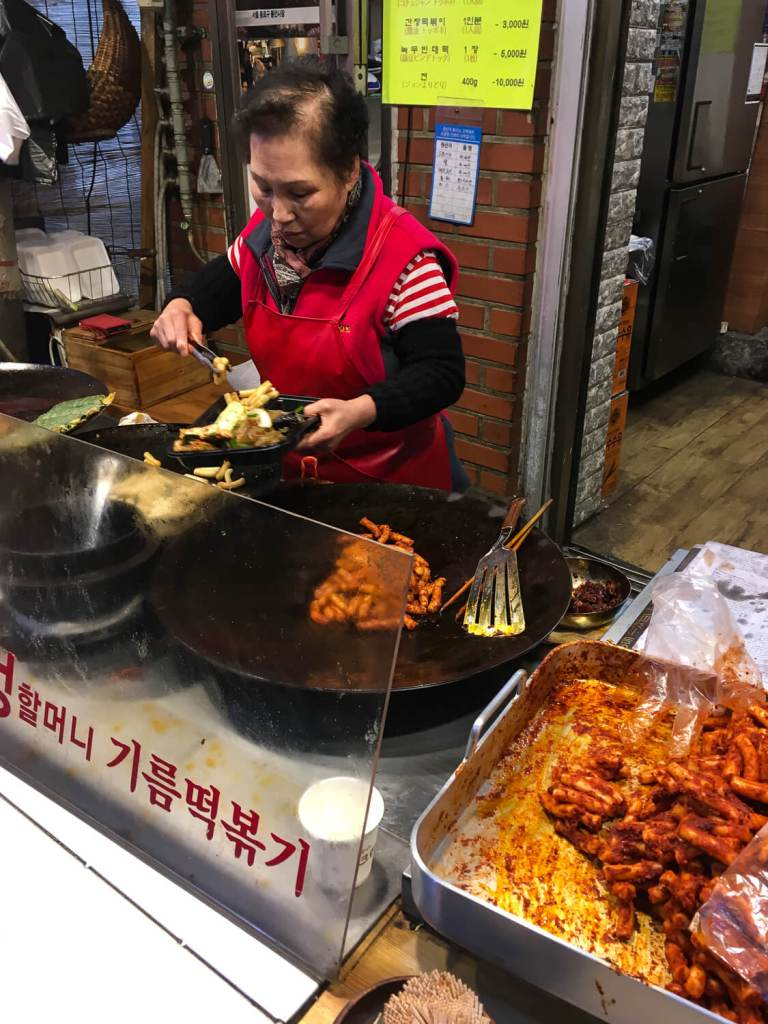 Specialty Coffee in Seoul_Tongin market_most famous market stand