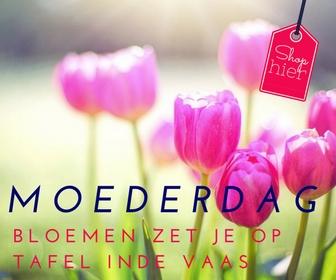 Moederdag inspiratie #2. Bloemen in een vaas mooi op tafel zetten Bloemen horen bij moederdag. Een mooie bos tulpen is zo gezellig. Voor Moederdag ga jij de bloemen al in de vaas mooi neer zetten. Bij Moederdag acties krijg je nu ook een vaas gratis. 6x Moederdag inspiratie - Mels Feestje