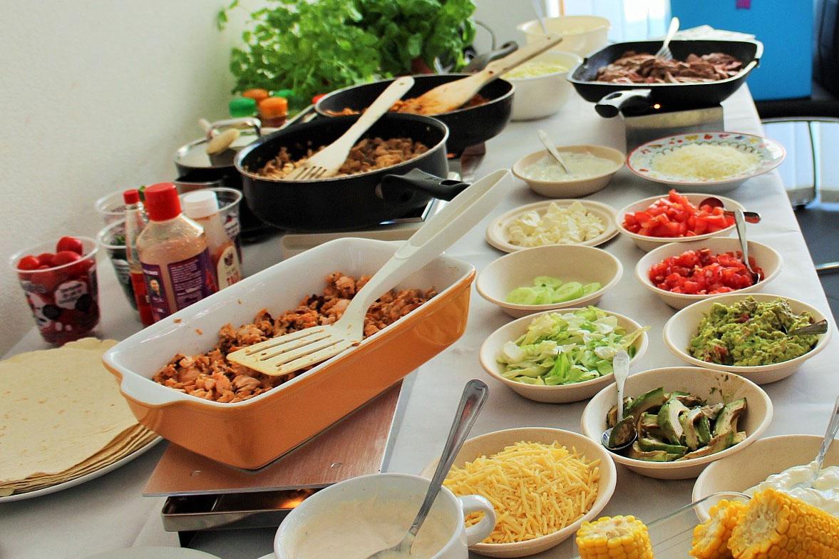 Verwonderlijk Fiesta! Mexicaanse verjaardagshapjes & Taco bar buffet UW-45