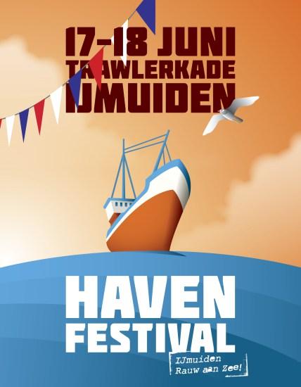 """Havenfestival Ijmuiden rauw aan zee - activiteit vaderdag zondag 18 juni havenfestival IJmuiden - Mels Feestje en vaderdag"""""""