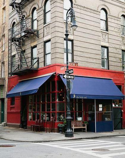 The little owl - hopleijk krijgen we voor zondag een reservering - mels Feestje en pareltjes van restaurants van new York