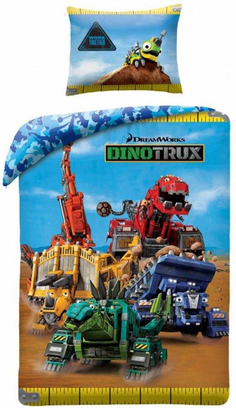 Dinotrux dekbed - cadeau sinterklaas 3 jaar