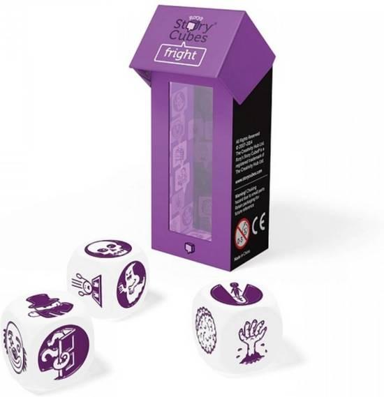 Spel voor in restaurant - Rory's Story Cubes - mix Fright - Sinterklaas cadeau