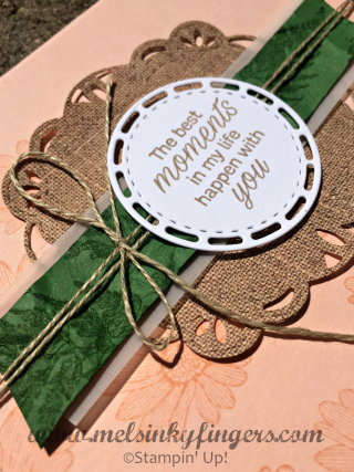 Using designer paper and crumpled cardstock are two ways to add texture to your project.