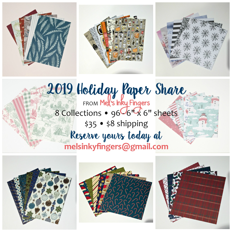 Holiday Paper Share Collage 2019