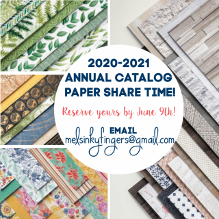 2020-2021 Annual catalog paper share time with Mel's Inky Fingers!