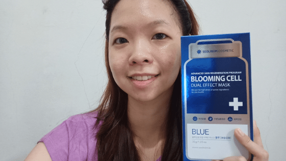 20190329 141529 00045152772637479140077 Review Seolreim Cosmetic Blooming Cell Dual Effect Mask
