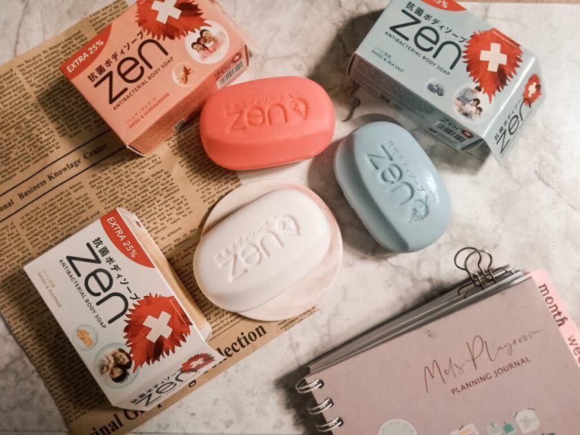 zen body soap