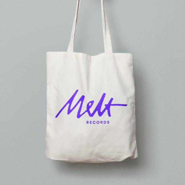 Melt Records Official Logo Tote Bag | Melt Records Online Store