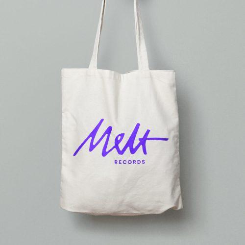 Melt Records Logo Tote Bag