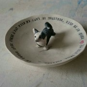 pet portrait bowl