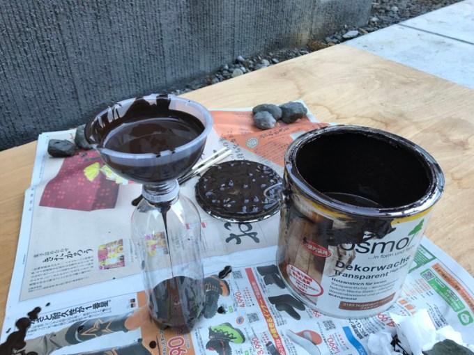 塗料詰め替え
